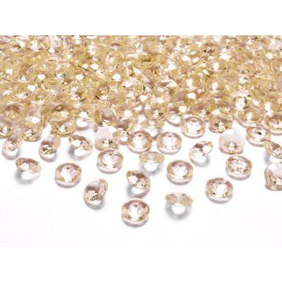 Arany gyémánt dekorkavics