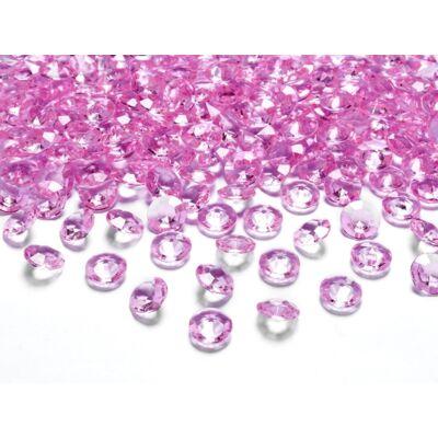 Rózsaszín gyémánt dekorkavics