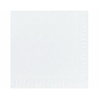 Fehér szalvéta 40x40 cm 125 db