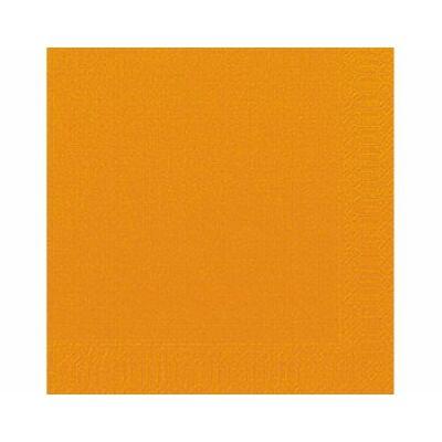 Narancs szalvéta 33x33 cm 20 db