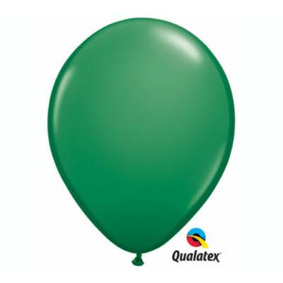 Sötétzöld héliumos lufi