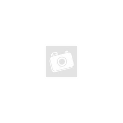 Fehér gyűrűpárna organzás gyöngyös virággal