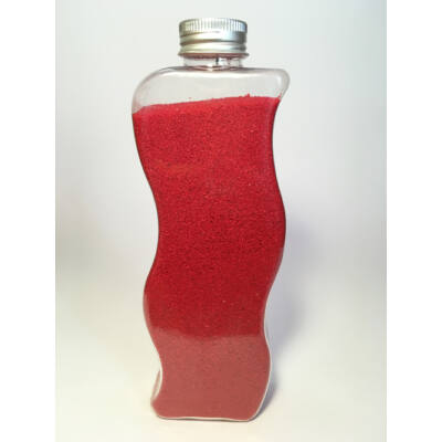 Piros dekorhomok
