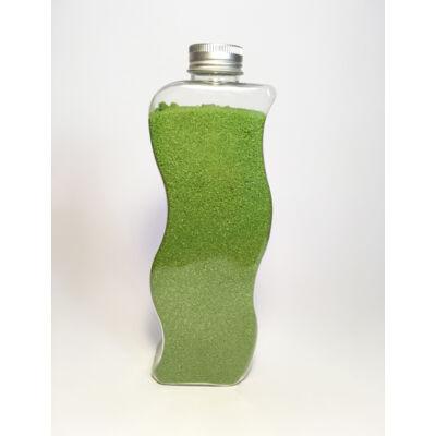 Zöld dekor homok
