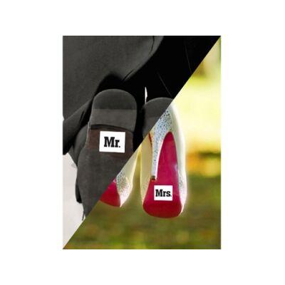 Mr. és Mrs. cipőmatrica