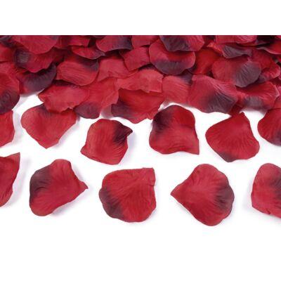 Bordós piros rózsaszirom