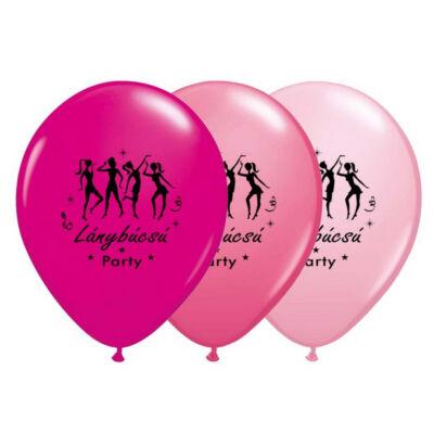 Lánybúcsú party lufi 3 db