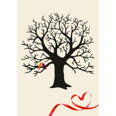 Madaras-szíves ujjlenyomatfa