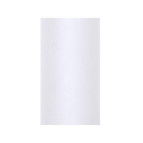 Fehér tüll tekercs 30 cm x 9 m