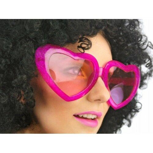 Pink szív szemüveg nagy