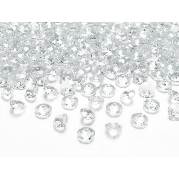 Átlátszó gyémánt dekorkavics
