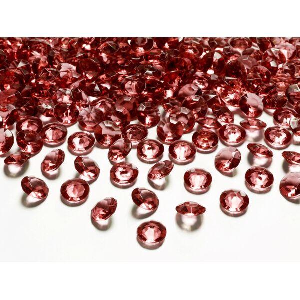 Bordó gyémánt dekorkavics
