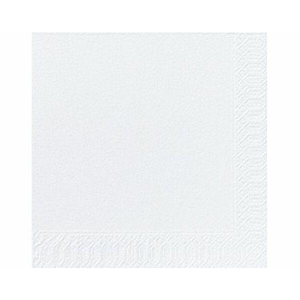 Fehér szalvéta 33x33 cm 20 db