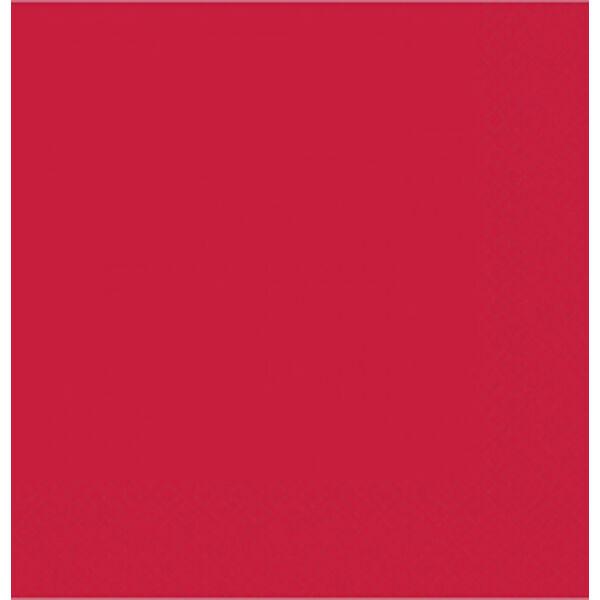 Piros szalvéta 33x33 cm 20 db