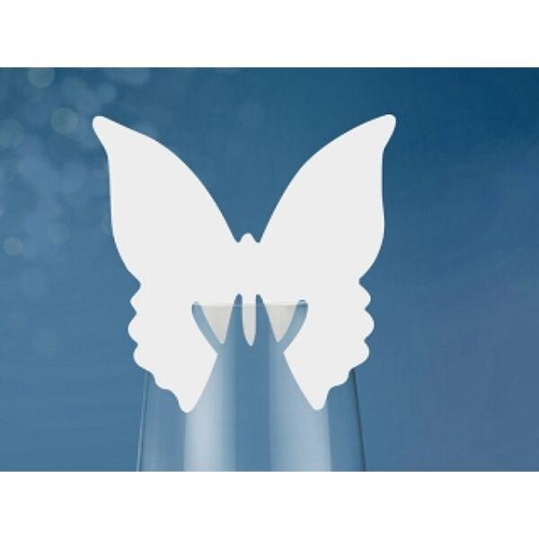 Pillangó ültetőkártya
