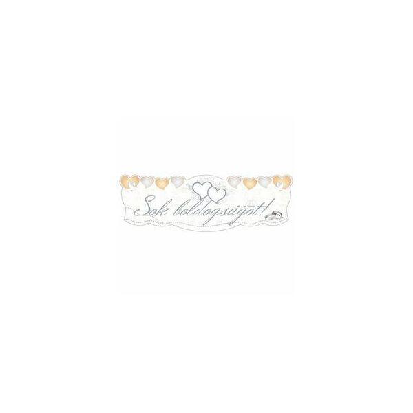 Sok boldogságot galambos esküvői felirat
