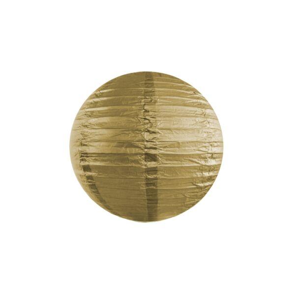 Arany lampion 25 cm