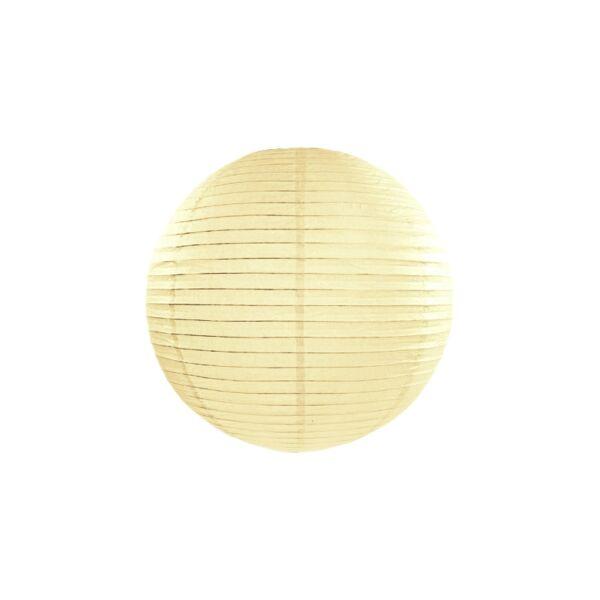 Ekrü lampion 25 cm