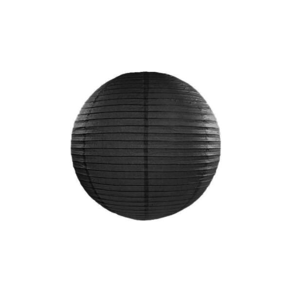 Fekete lampion 25 cm