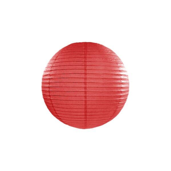Piros lampion 25 cm