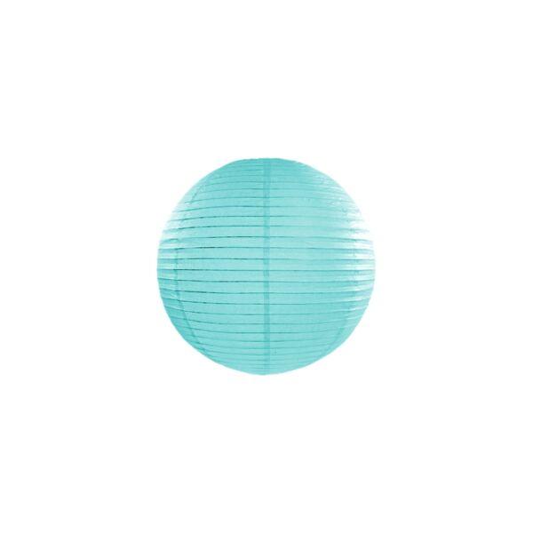 Tiffany kék lampion
