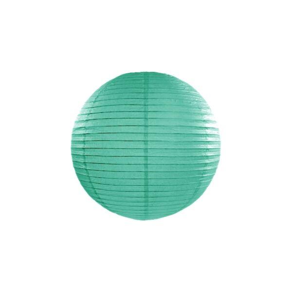 Türkiz lampion 25 cm