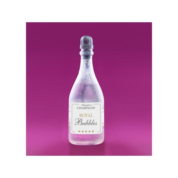 Ezüst pezsgősüveg buborékfújó