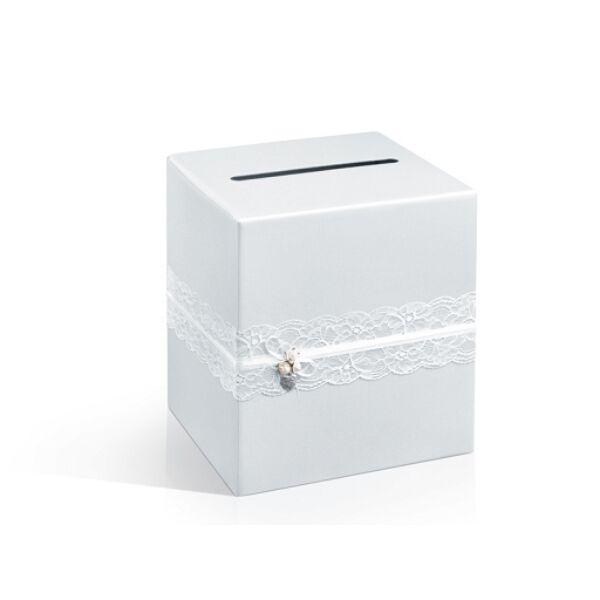 Elegáns pénzes doboz esküvőre