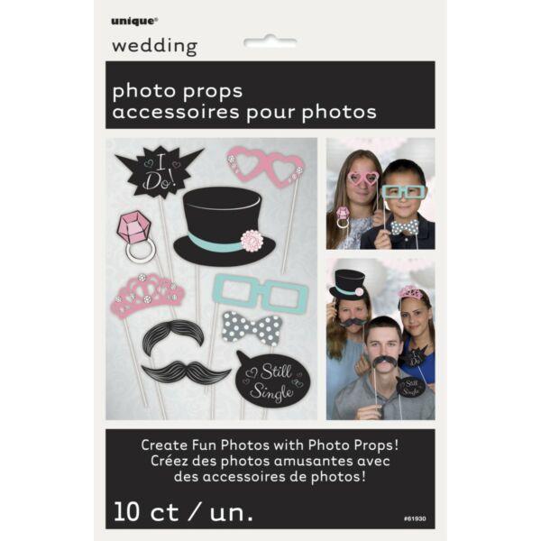 Esküvői fotózáshoz kellékek
