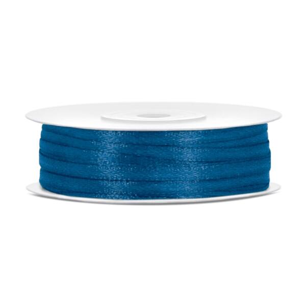 Kék szatén szalag 3 mm x 50 m