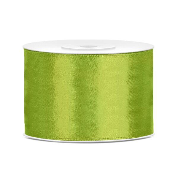Almazöld szatén szalag 5cm x 25m
