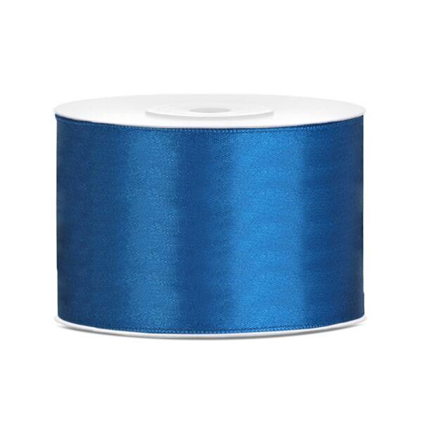 Kék szatén szalag 5 cm x 25 m