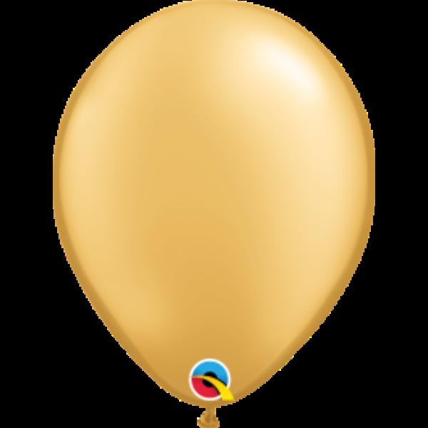 Arany gyöngyházas héliumos lufi