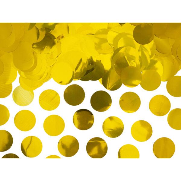 Arany metál konfetti