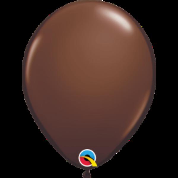 Csoki barna lufi qualatex 28 cm