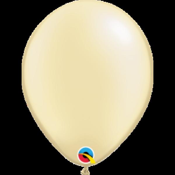 Ekrü gyöngyházas héliumos lufi