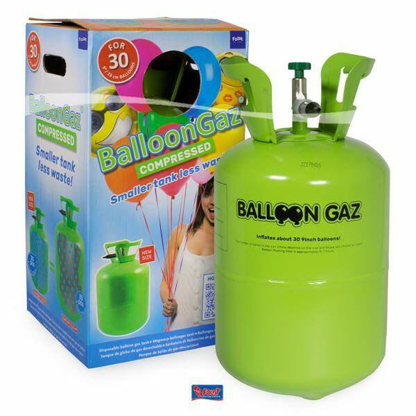 Eldobható hélium palack 30 db lufihoz