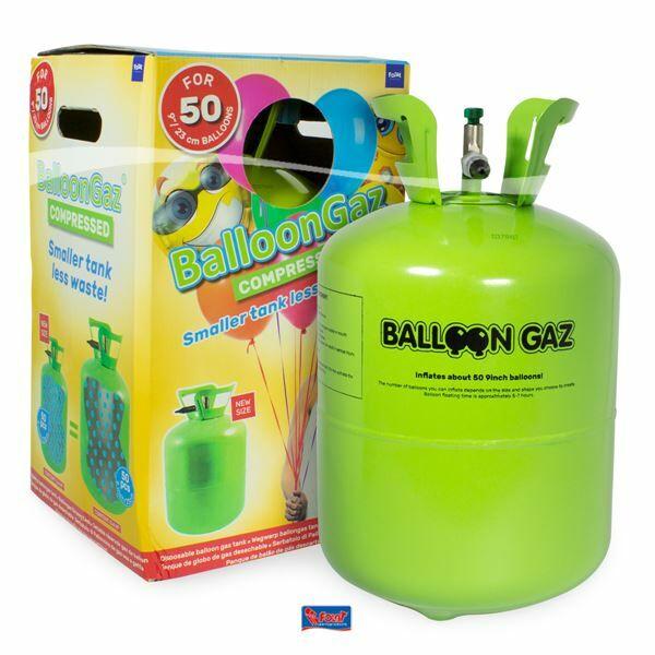 Eldobható hélium palack 50 db lufihoz