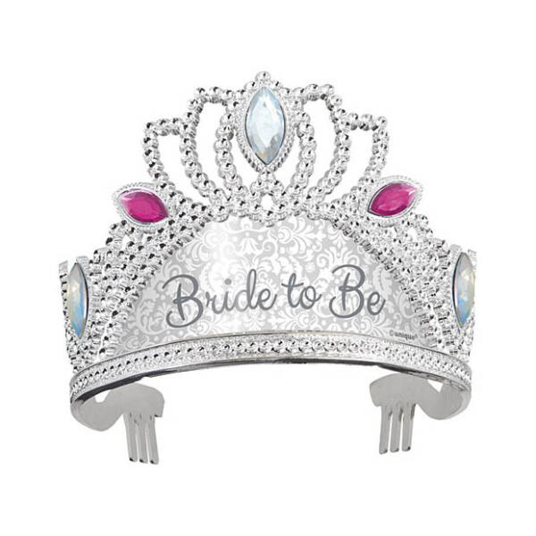 Ezüst Bride to be tiara