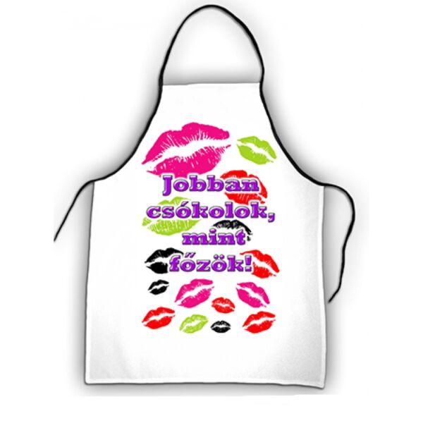 Jobban csókolok, mint főzök kötény