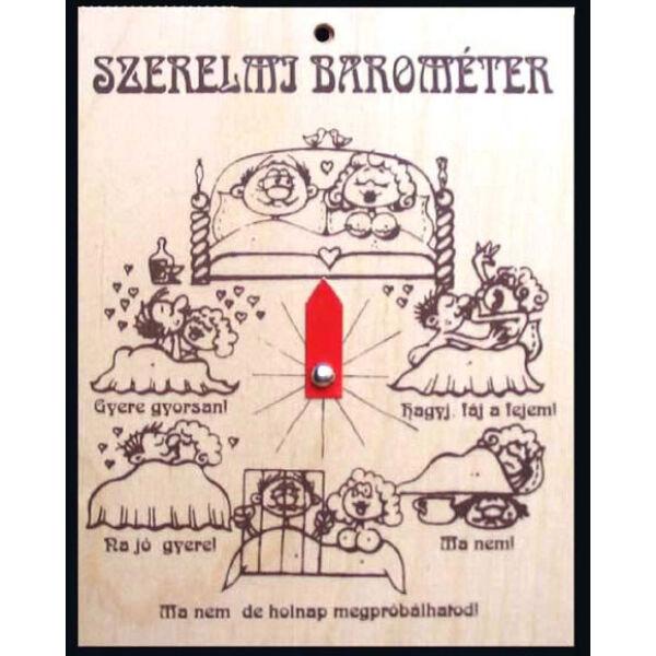 Szerelmi barométer tábla