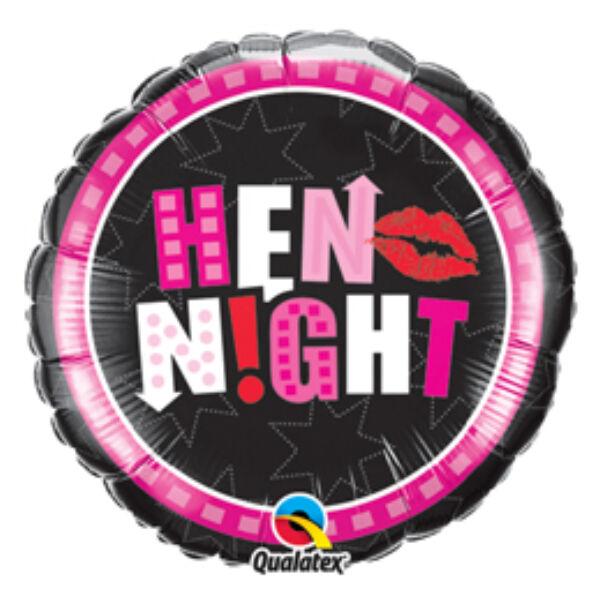 Hen night lánybúcsús héliumos fólia lufi
