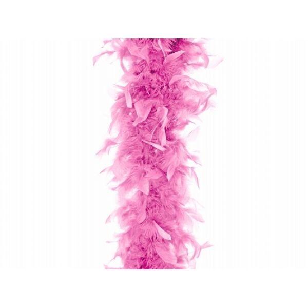 Rózsaszín toll boa