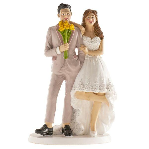 Lezser esküvői nászpár
