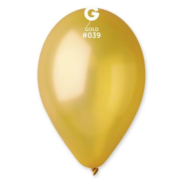 Arany lufi, metál 28 cm