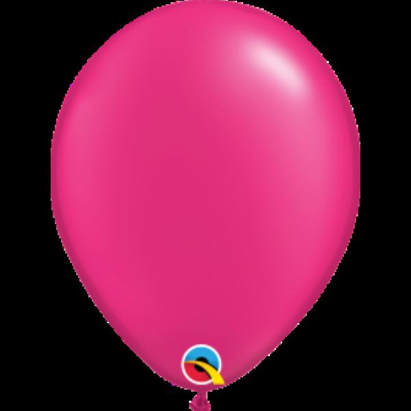 Pink gyöngyházas qualatex lufi 28 cm