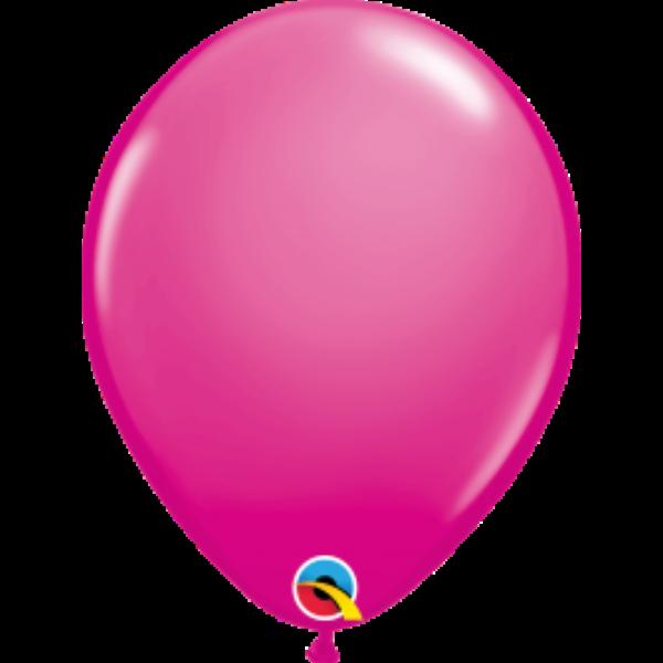 Pink héliumos lufi