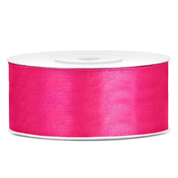 Pink szatén szalag 25mm x 25m