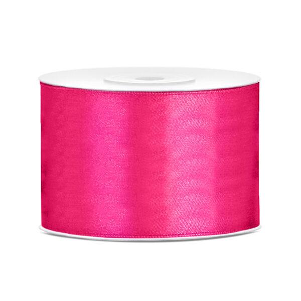 Pink szatén szalag 5cm x 25m