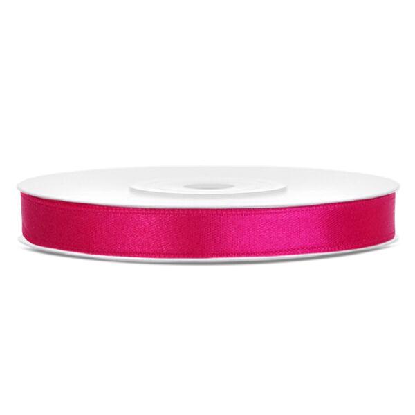 Pink szatén szalag 6mm x 25m